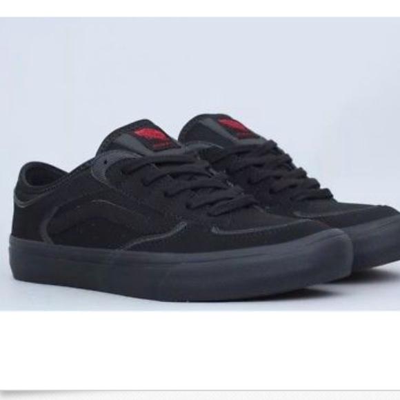 0c77f4a0bd Vans Rowley Pro 50th Series  00 Black Black🌹